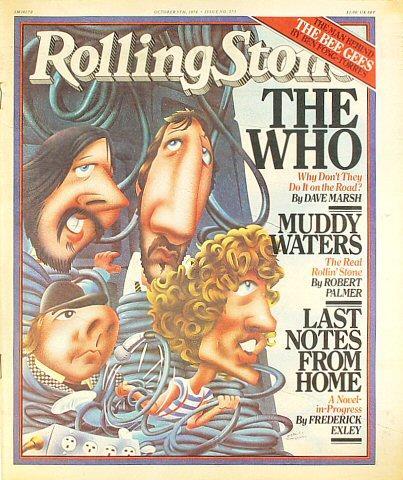 Rolling Stone Magazine October 5, 1978