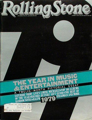 Rolling Stone Magazine December 27, 1979