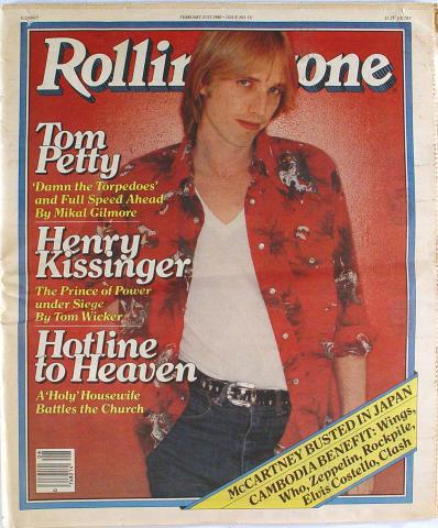 Rolling Stone Magazine February 21, 1980