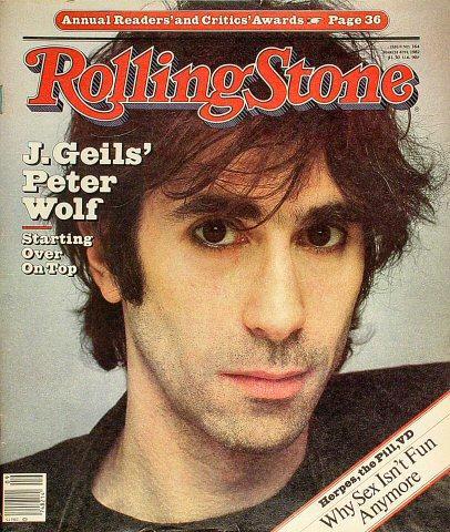 Rolling Stone Magazine March 4, 1982