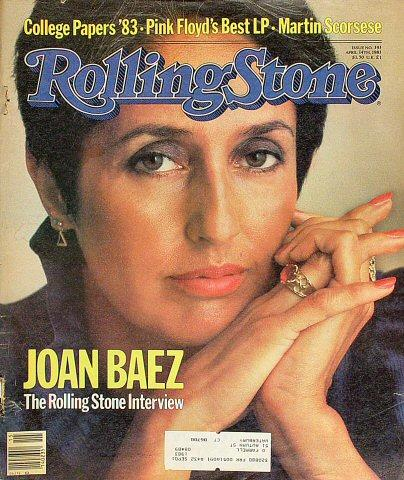 Rolling Stone Magazine April 14, 1983