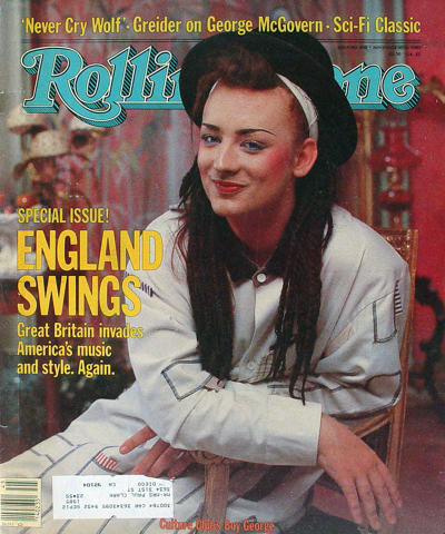 Rolling Stone Magazine November 10, 1983