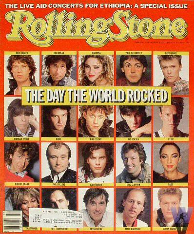 Rolling Stone Magazine August 15, 1985