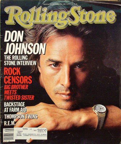 Rolling Stone Magazine November 7, 1985