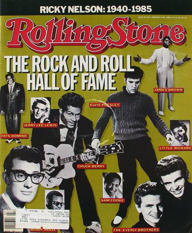 Rolling Stone Magazine February 13, 1986