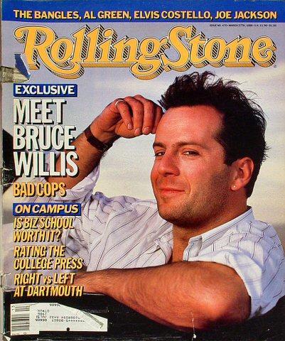 Rolling Stone Magazine March 27, 1986