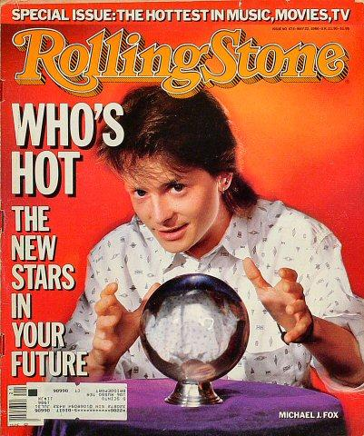 Rolling Stone Magazine May 22, 1986