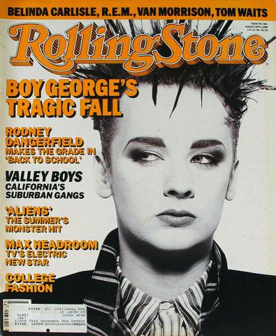 Rolling Stone Magazine August 28, 1986