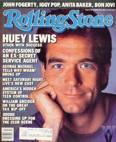 Rolling Stone Magazine November 20, 1986