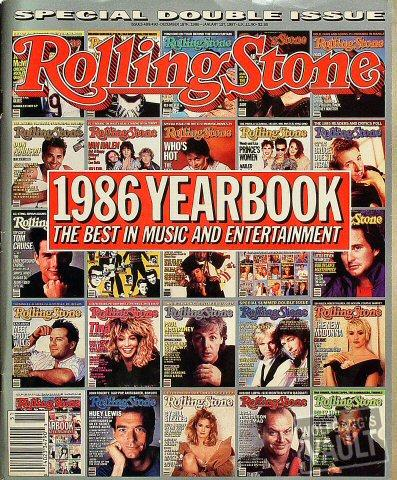 Rolling Stone Magazine December 18, 1986