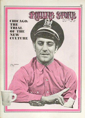 Rolling Stone Magazine April 2, 1970