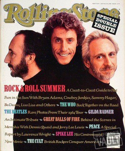 Rolling Stone Magazine July 13, 1989