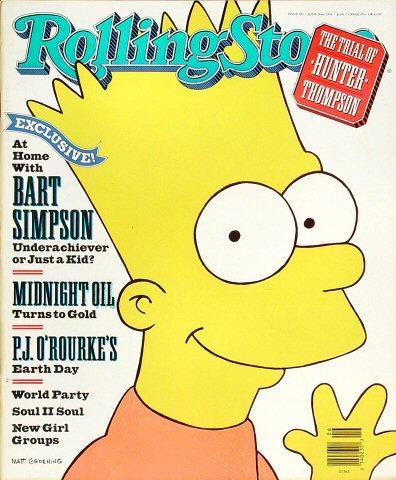 Rolling Stone Magazine June 28, 1990