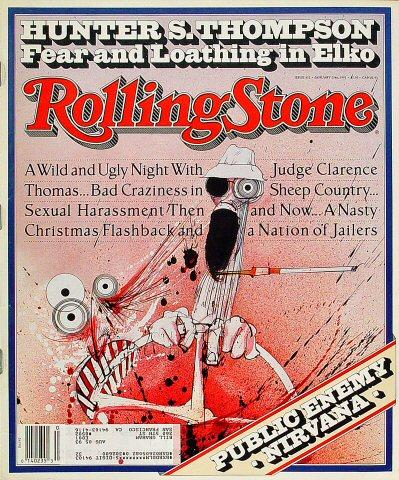 Rolling Stone Magazine January 23, 1992