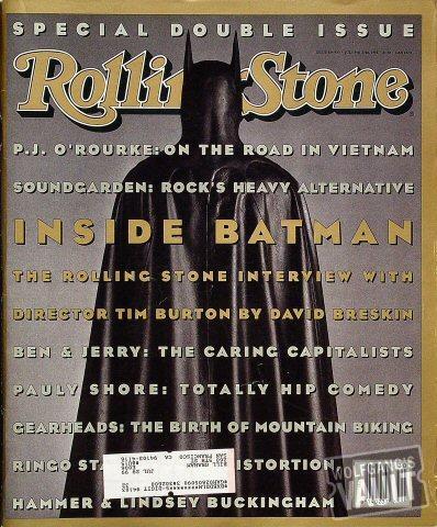 Rolling Stone Magazine July 9, 1992