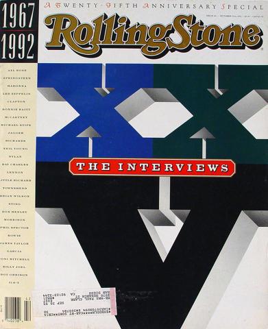 Rolling Stone Magazine October 15, 1992