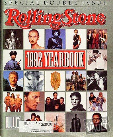 Rolling Stone Magazine December 10, 1992