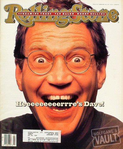 Rolling Stone Magazine February 18, 1993