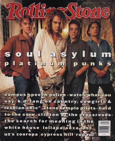 Rolling Stone Magazine August 5, 1993