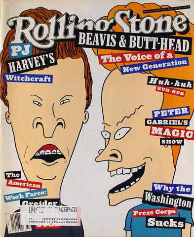 Rolling Stone Magazine August 19, 1993