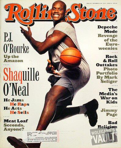 Rolling Stone Magazine November 25, 1993