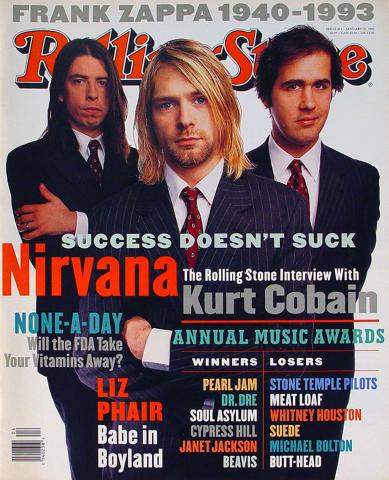Rolling Stone Magazine January 27, 1994