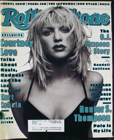 Rolling Stone Magazine December 15, 1994