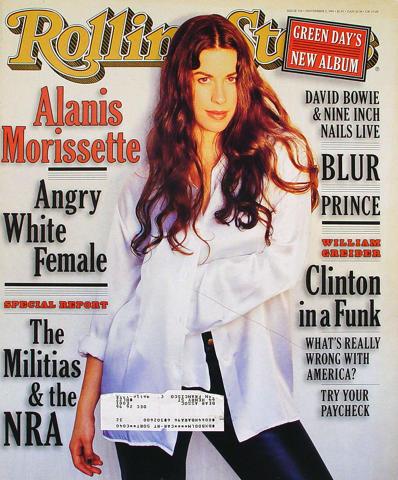 Rolling Stone Magazine November 2, 1995