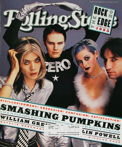 Rolling Stone Magazine November 16, 1995