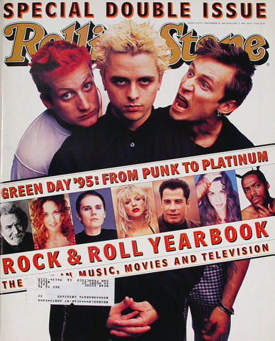 Rolling Stone Magazine December 28, 1995