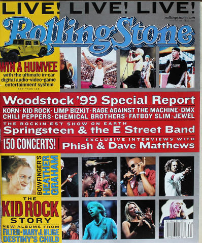 Rolling Stone Magazine September 2, 1999