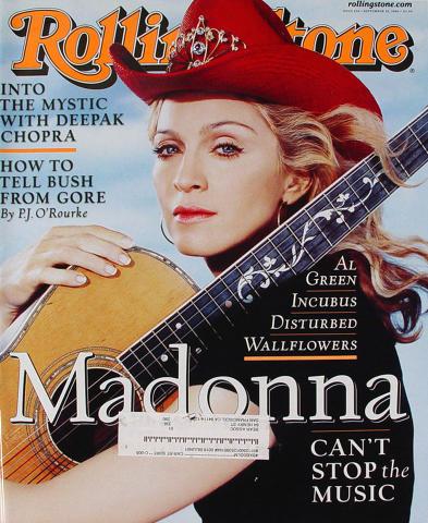 Rolling Stone Magazine September 28, 2000