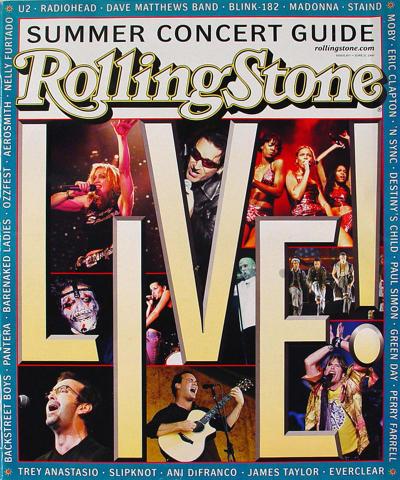 Rolling Stone Magazine June 21, 2001