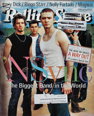 Rolling Stone Magazine August 16, 2001