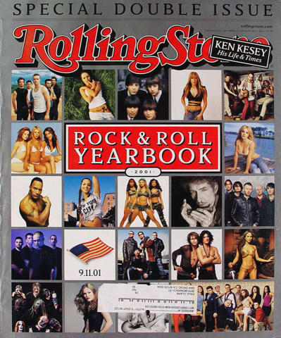 Rolling Stone Magazine December 27, 2001