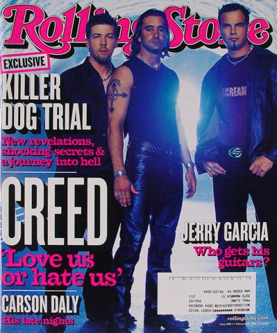 Rolling Stone Magazine February 28, 2002