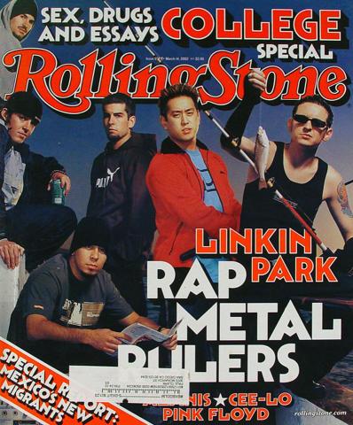 Rolling Stone Magazine March 14, 2002