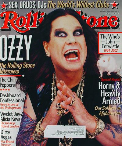 Rolling Stone Magazine July 25, 2002