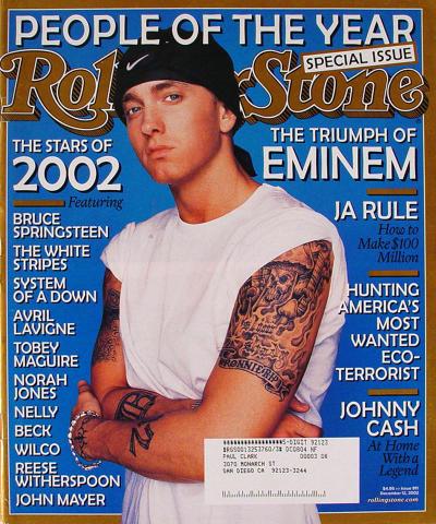 Rolling Stone Magazine December 12, 2002