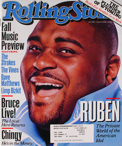 Rolling Stone Magazine August 21, 2003
