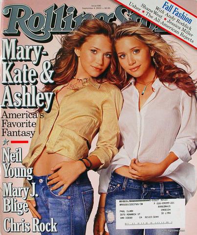 Rolling Stone Magazine September 4, 2003