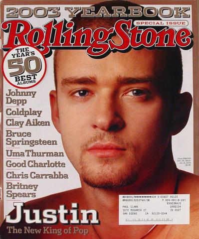 Rolling Stone Magazine December 25, 2003