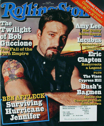 Rolling Stone Magazine April 1, 2004