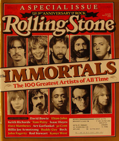 Rolling Stone Magazine April 21, 2005