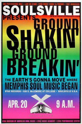 Ground Shakin' Ground Breakin' Poster