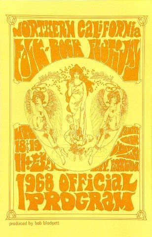 Northern California Folk-Rock Festival Program