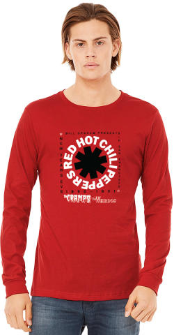 Red Hot Chili Peppers Men's Vintage Tour Long Sleeve T-Shirt