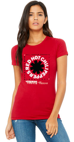 Red Hot Chili Peppers Women's Vintage Tour T-Shirt