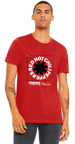Red Hot Chili Peppers Men's Vintage Tour T-Shirt