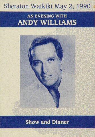 Andy Williams Program